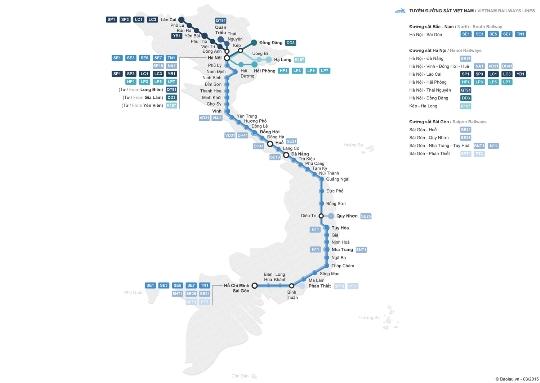 Spoorwegen van Vietnam