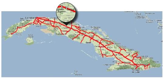 Spoorwegen van Cuba
