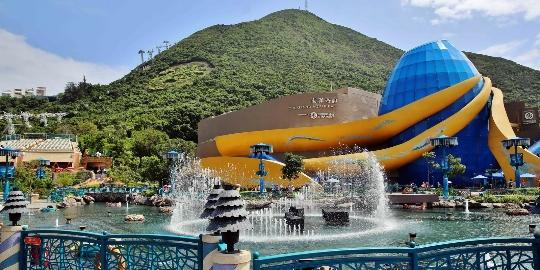 الحدائق المائية في هونغ كونغ