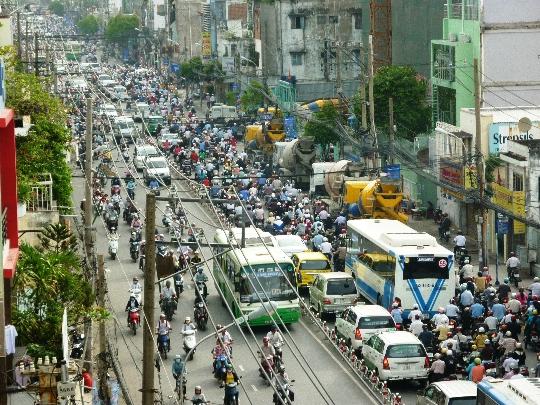 Ho Chi Minhin kaupungin kadut
