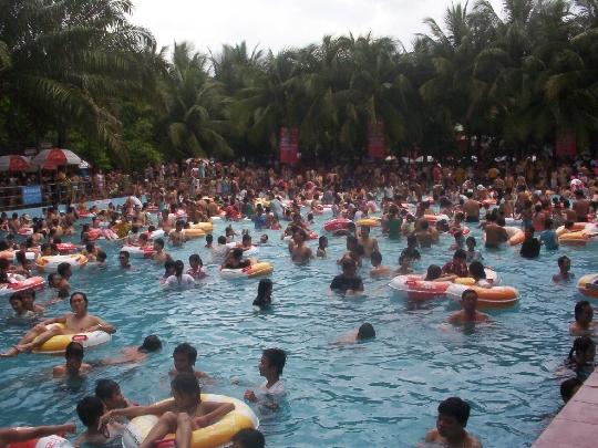 Водни паркове в град Хо Ши Мин