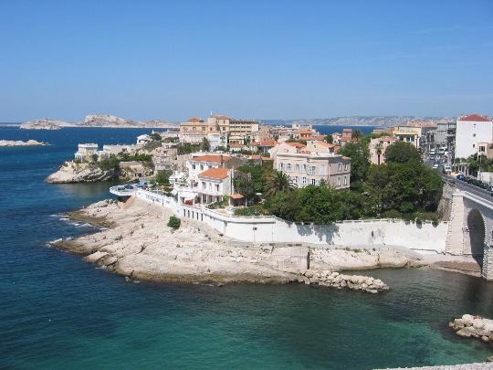 Marseille gebieden