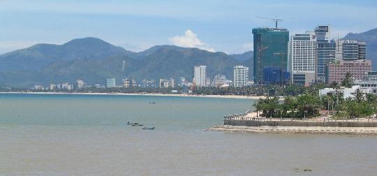 Nha Trangin alueet