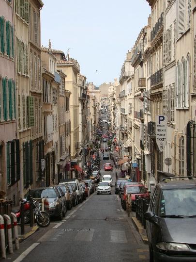 Marseillen kadut