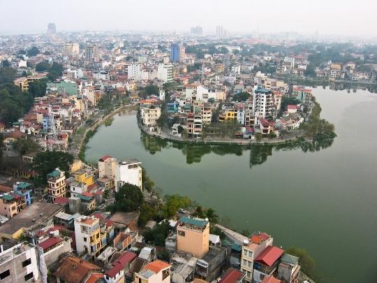 Hanoin alueet