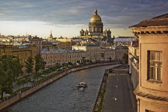 Observatiedekken in St. Petersburg