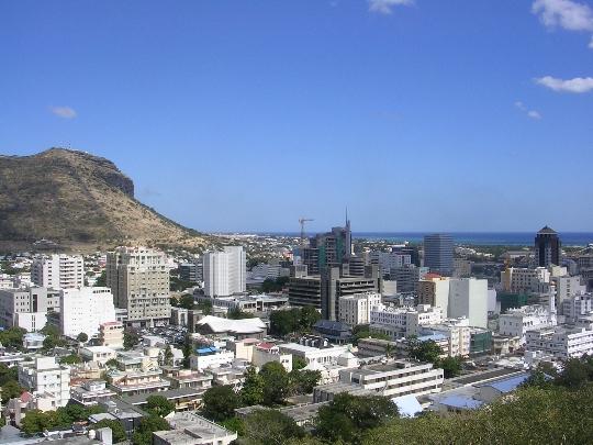 Port Louis - Mauritiuksen pääkaupunki