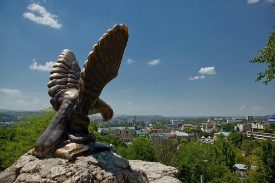 Observatiedekken in Pyatigorsk