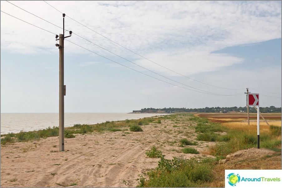 Азовско море и крайбрежието. Shilovka