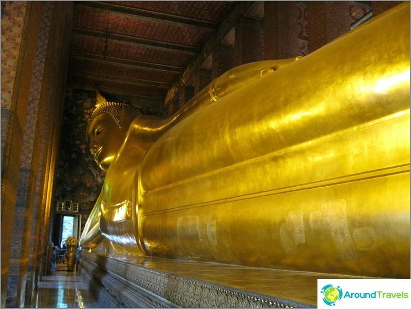 Lamaantuneen buddhan temppeli Bangkokissa