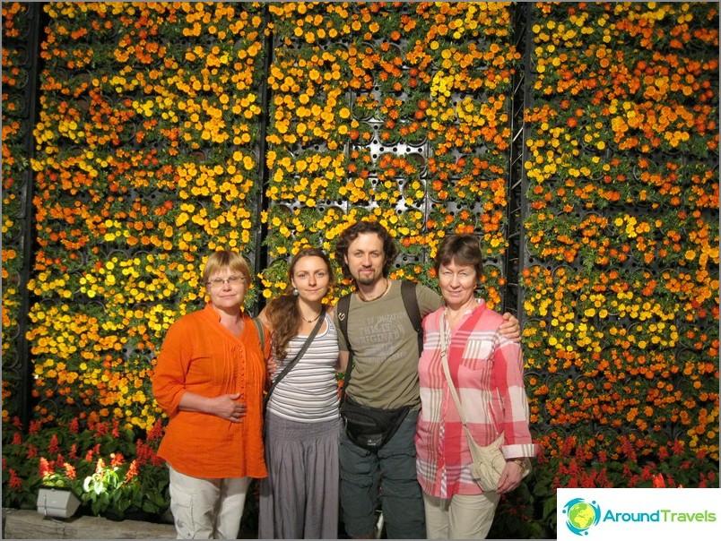 Kukkafestivaali Chiang Maissa