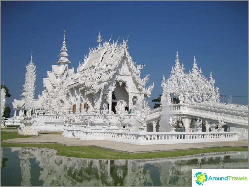 Valkoinen temppeli Chiang Raissa