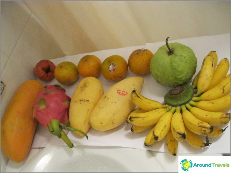 Yleisin thaimaalainen hedelmä aamiaiseksi