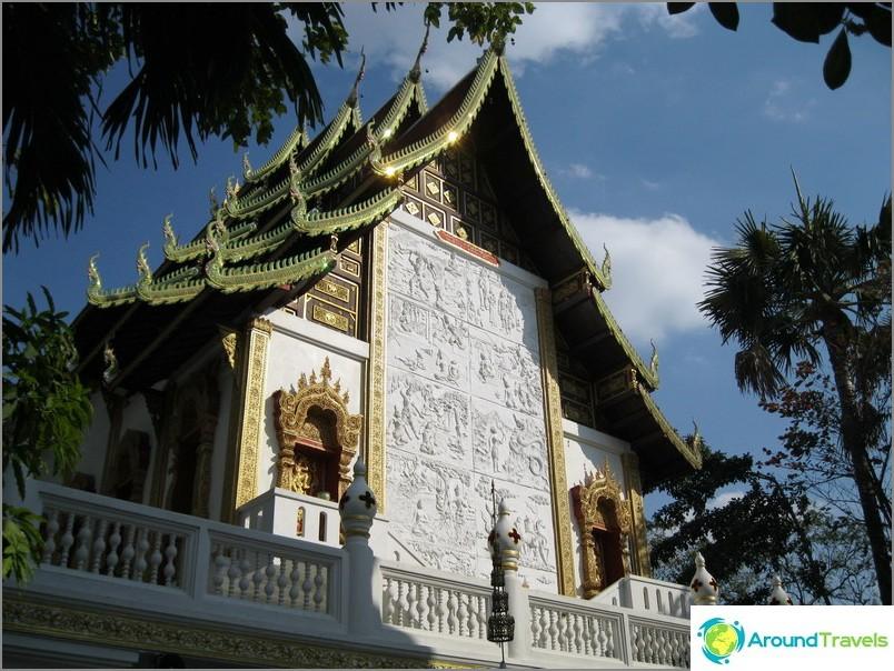 Temppelit Thaimaassa
