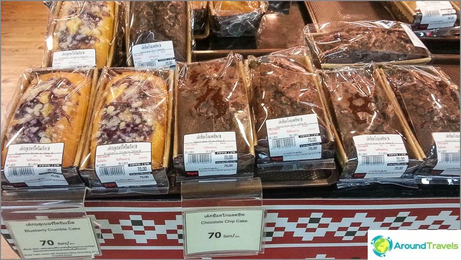Suosikki cupcakes - 50-70 bahtia