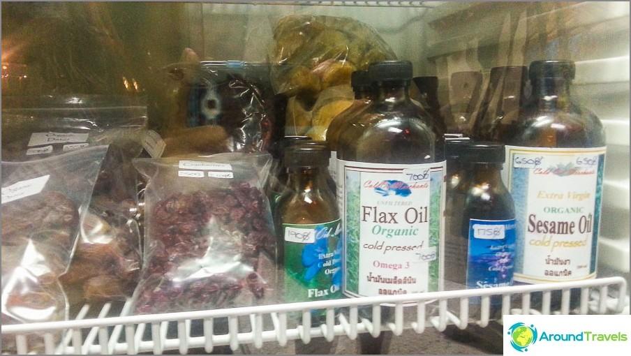 Pellavansiemenöljy ja seesaminsiemenet