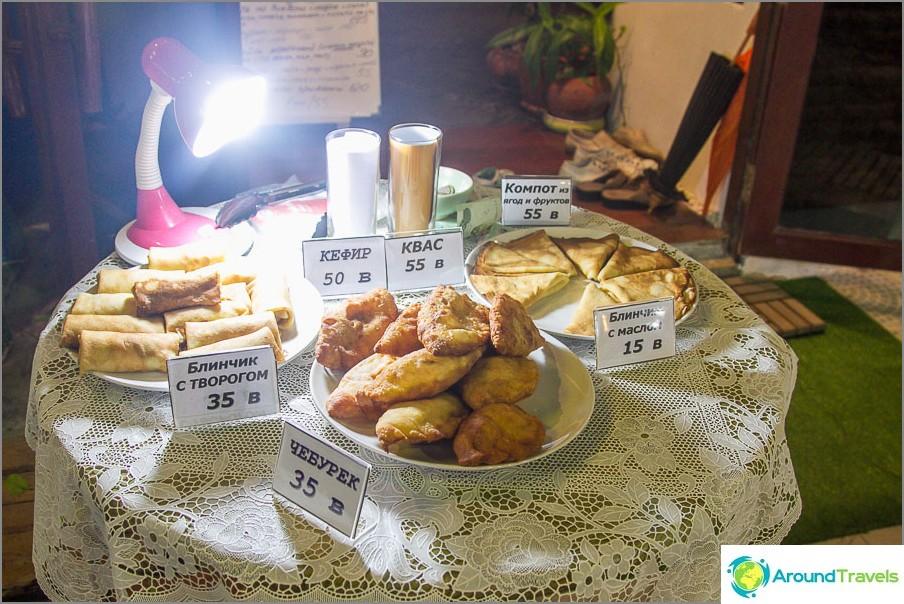 Venäläinen kahvila Samuilla