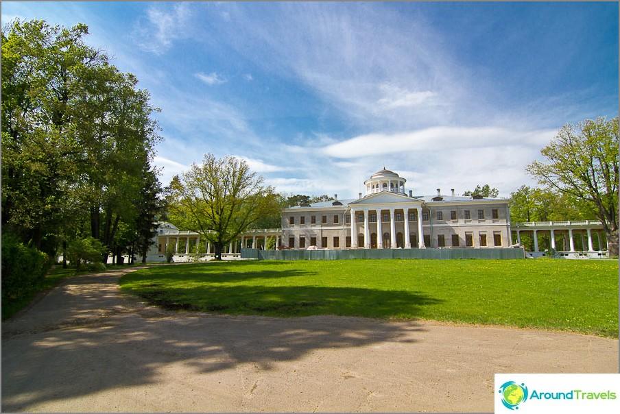 Ostafjevon museo - ei enää ole levinnyt