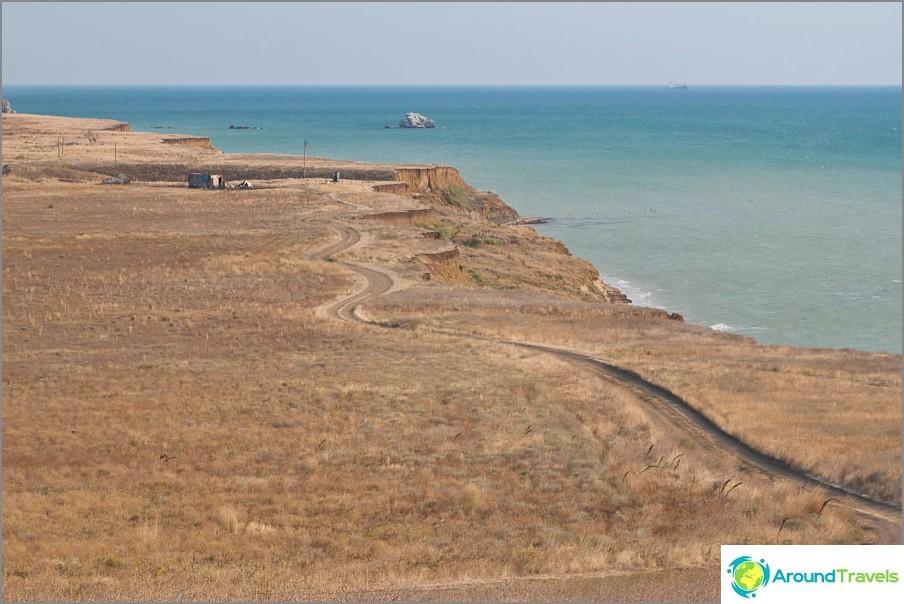 Пейзажи на полуостров Таман
