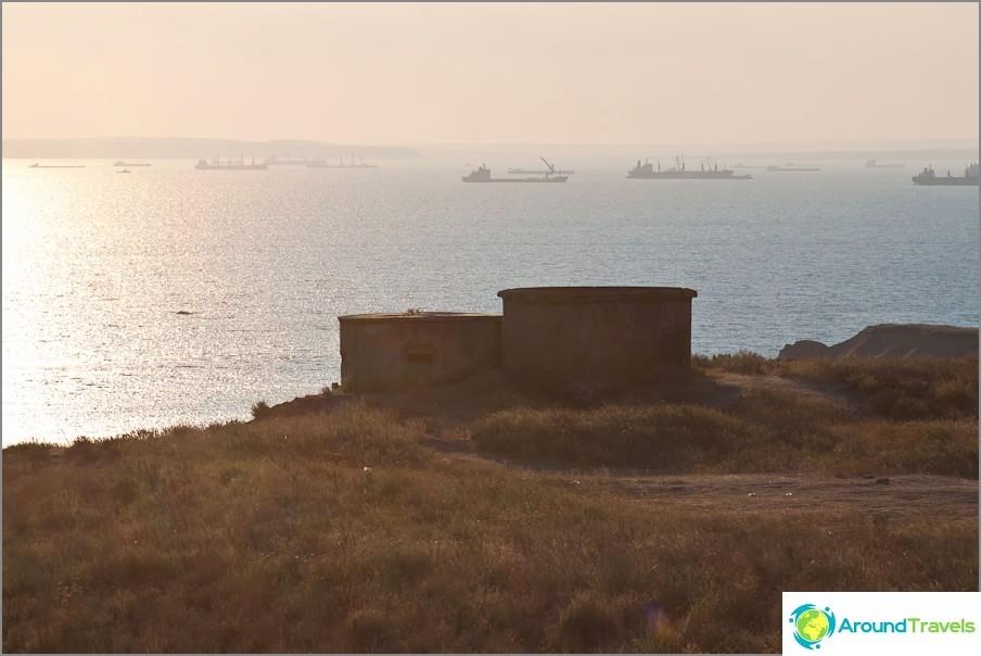 Основната и видима част - бункери