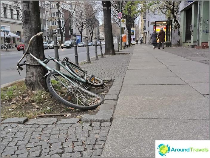 Vanhat polkupyörät Saksassa
