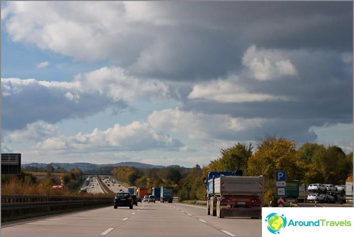 Saksan autobahns
