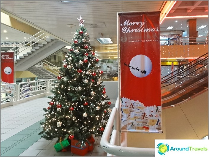 Uusi vuosi Ampang Park -ostoskeskuksessa