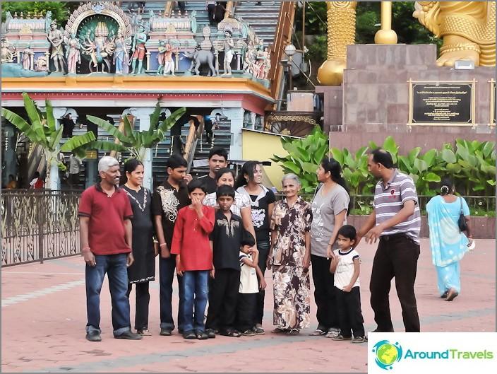 Голямо индийско семейство