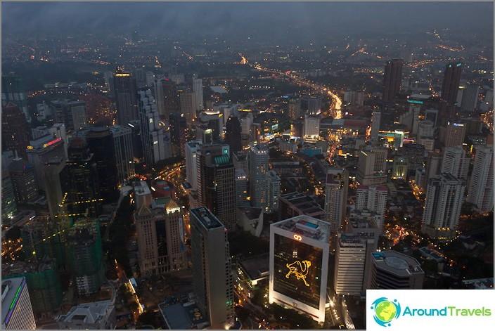 Kuala Lumpur illalla