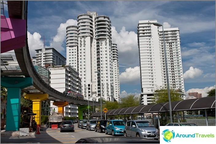 Kuala Lumpurin moderni kaupunki