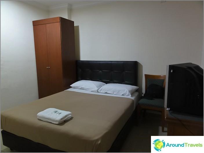 Huoneemme City-hotellissa Chinatownissa