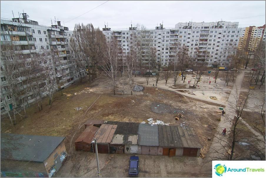 Спален район на Харков