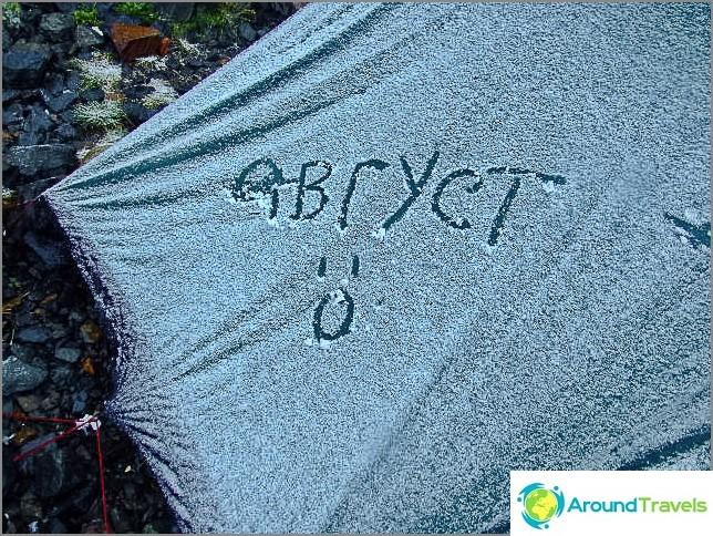 Никога не оценявате истински топлината като палатка, покрита със сняг