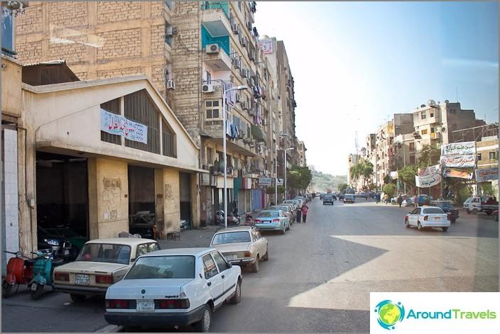 Kuva Kairosta. Kaduilla.