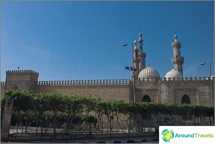 Kuva Kairosta. Moskeija.