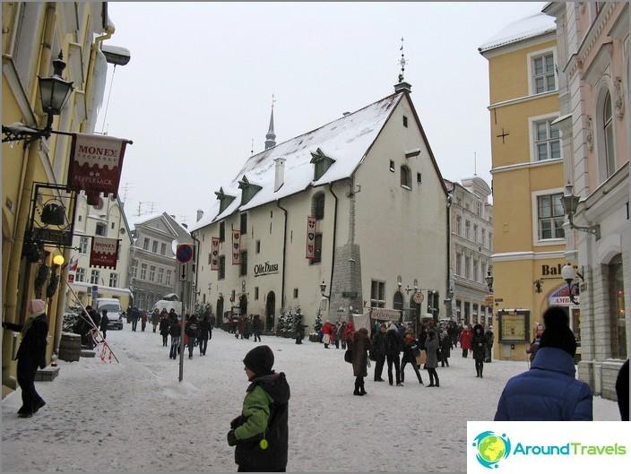 Tallinna Vanha kaupunki.