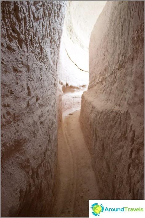 Пътеки в скалите. Кападокия