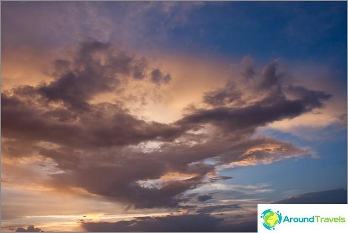 Небето над Кападокия.
