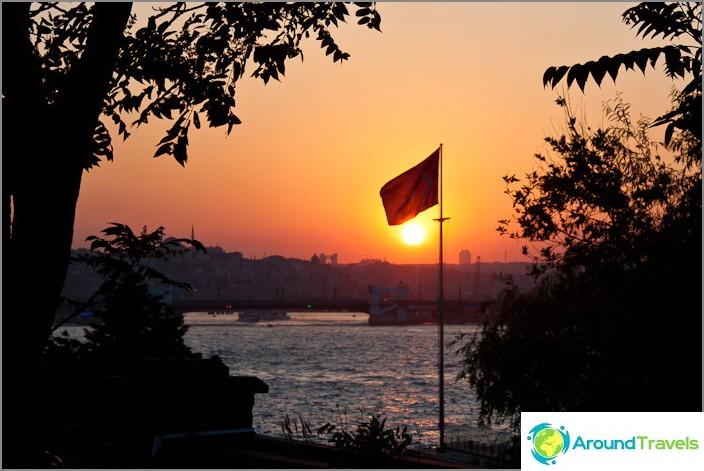 Lippu Istanbulissa.