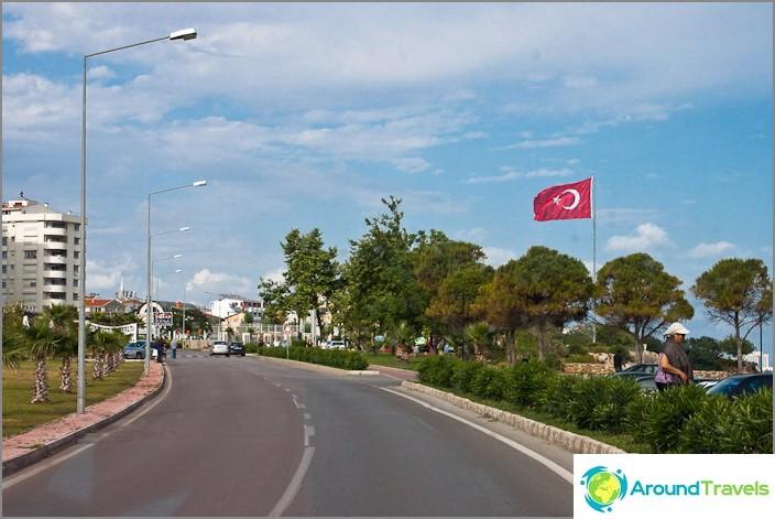 Vain Antalyan kaupunki.