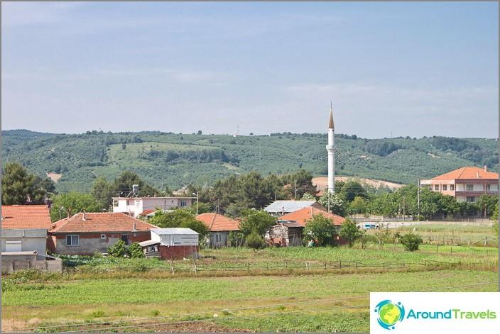 Moskeija Karasun kylässä.