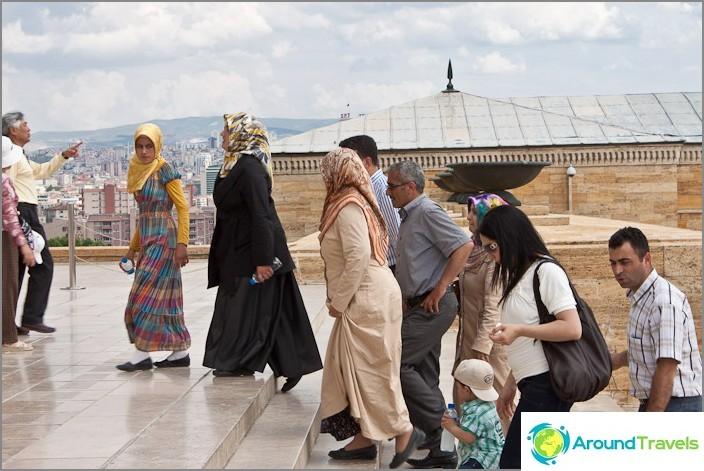 Tyypillinen turkkilainen perhe.