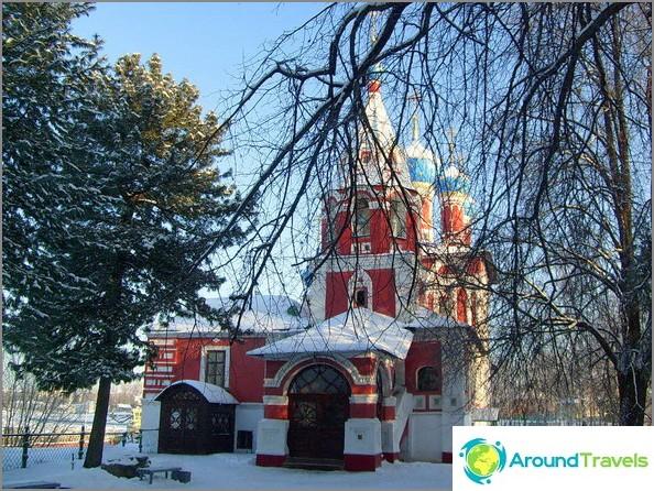 Uglich. Tsarevitš Dmitryn kirkko veressä.
