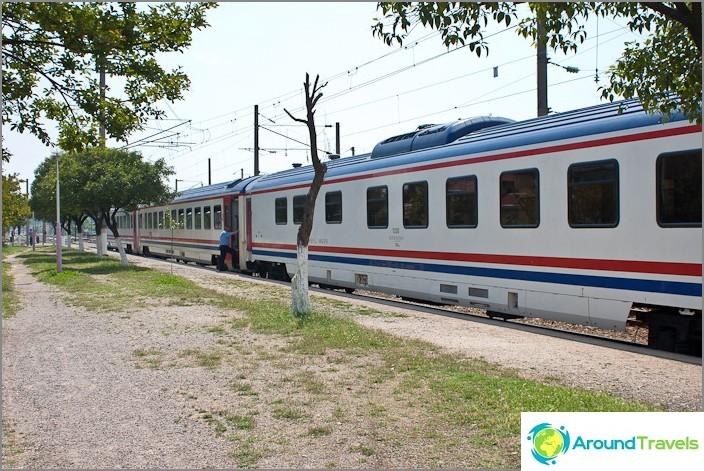 Железници на Турция.