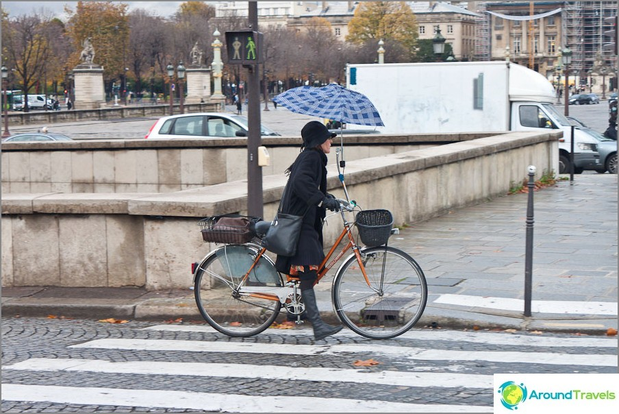 Парижани по улиците