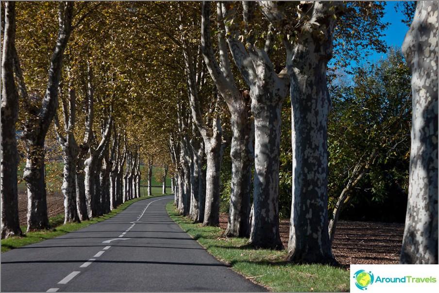 Франция пътища