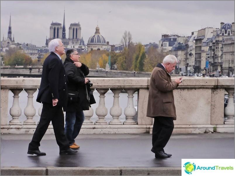 Възрастното поколение на Франция
