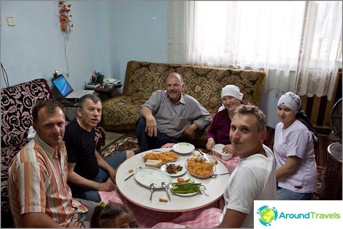 I en rysk-turkisk familj.