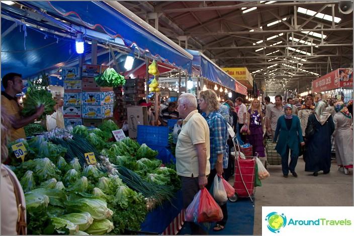 Bazaar i Karasu.