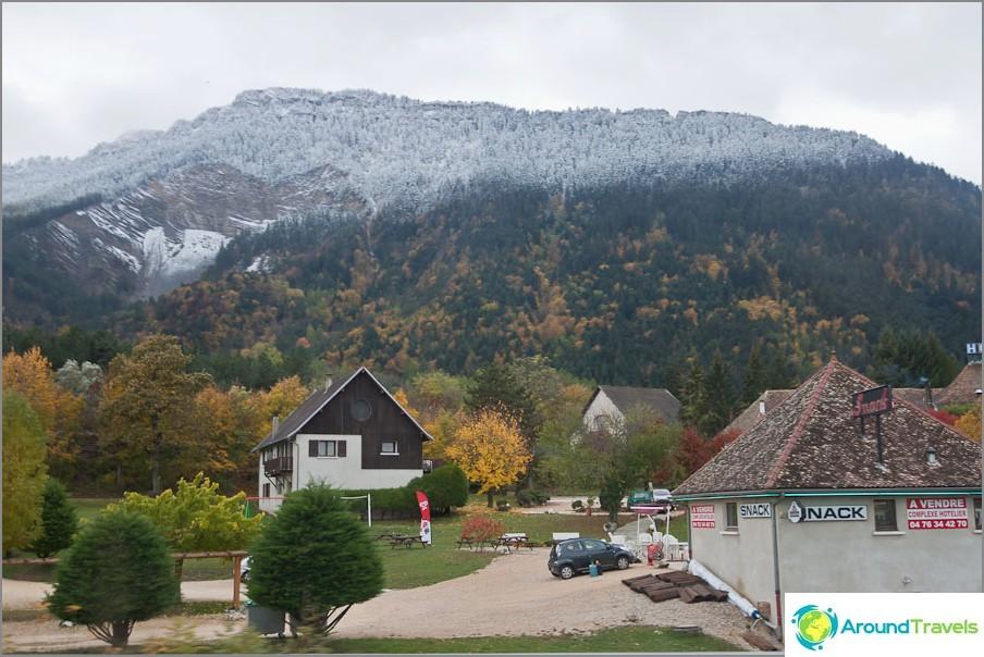 Селища в планините на Франция